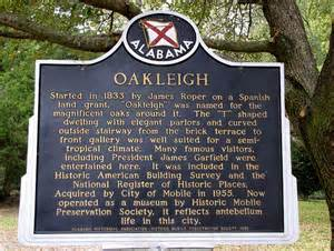oakleigh plaque